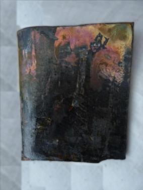 Terre raku jaune - coppermat - cuisson raku normale - 004